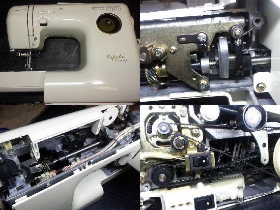 ジャノメミシン修理/Lafailia5550DX