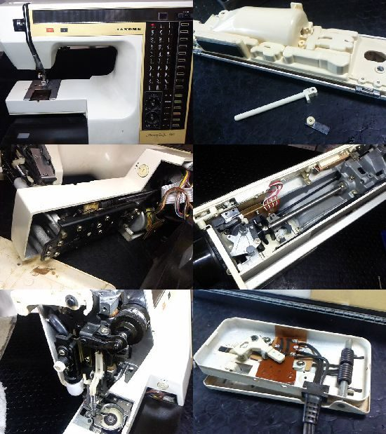 ミシン修理/メモリークラフト6000