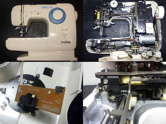 ミシン修理/ブラザー/EL130
