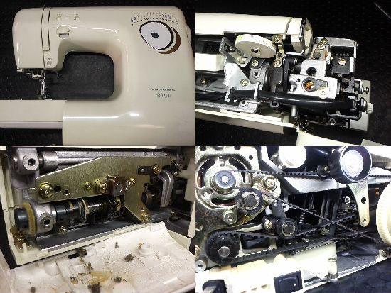 ジャノメミシン修理/S6050