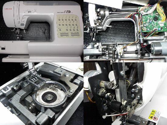 monamiNU/SC-100/SINGER/ミシン修理