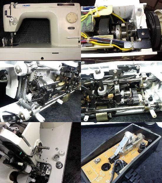ミシン修理/JUKI/TL-98SP