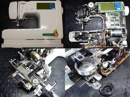 ミシン修理/P-5000