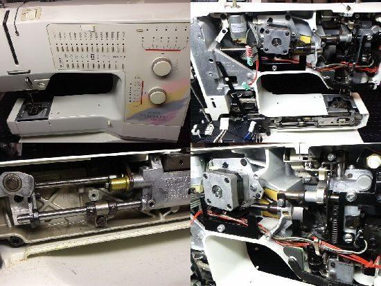 ベルニナホリデーヌ1090のミシン修理