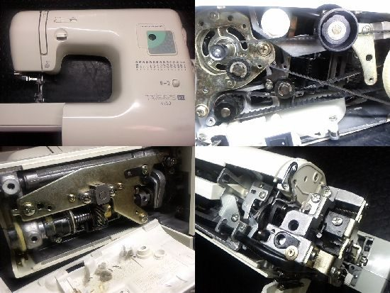 ジャノメFAVEURSEX 4150のミシン修理