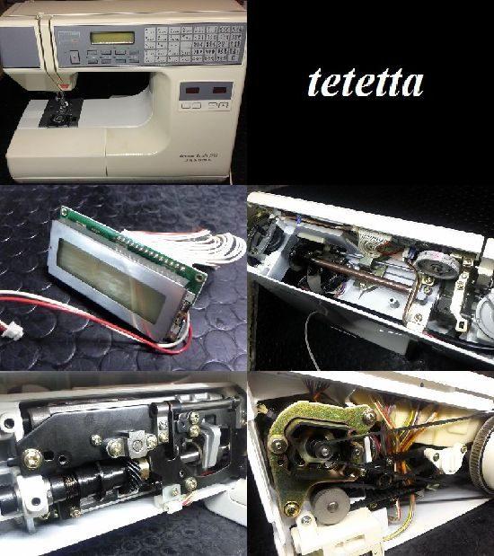 センサークラフト7300/ジャノメミシン修理
