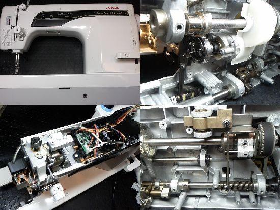 ジャノメ780DBのミシン修理