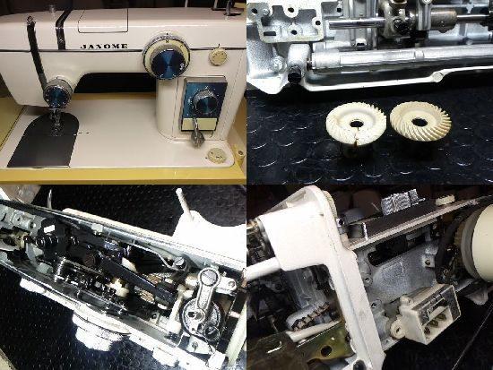 804/ジャノメ/ミシン修理