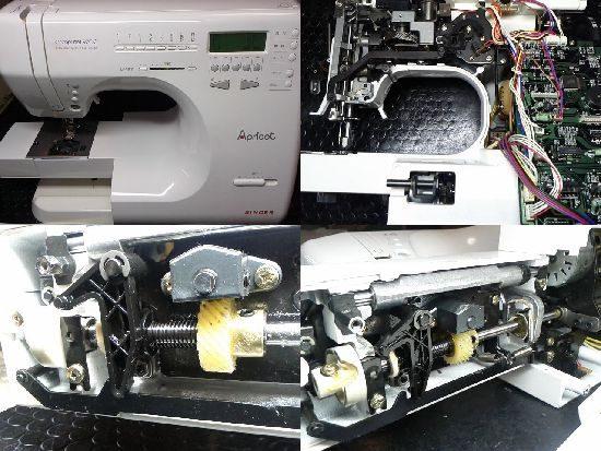 シンガーApricot9700のミシン修理