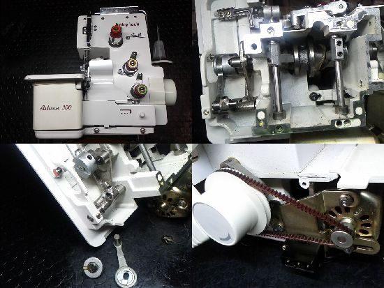 Artisan/A300/ジューキ/ミシン修理