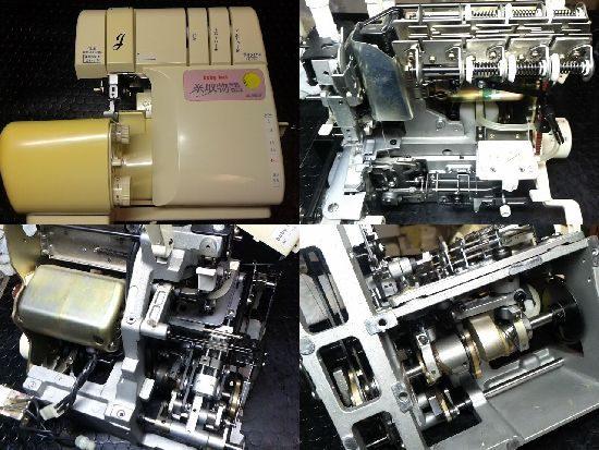 ベビーロック糸取物語BL25Sのミシン修理