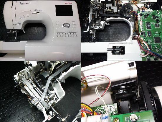 シンガーBouquetのミシン修理