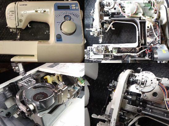 ブラザーCPV03(B-500)のミシン修理