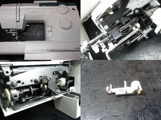 HusqvanaEmerald122のミシン修理