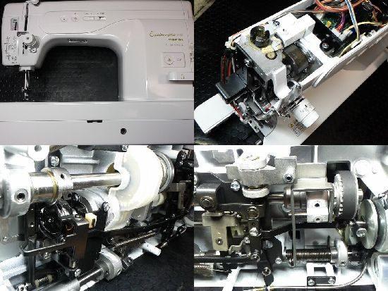 エクシムプロEP9600のジューキbabylockミシン修理