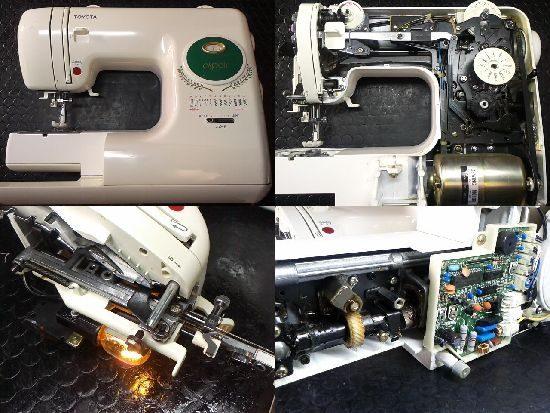 トヨタespoirのミシン修理