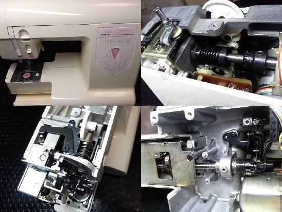JUKIニューコセール52のミシン修理