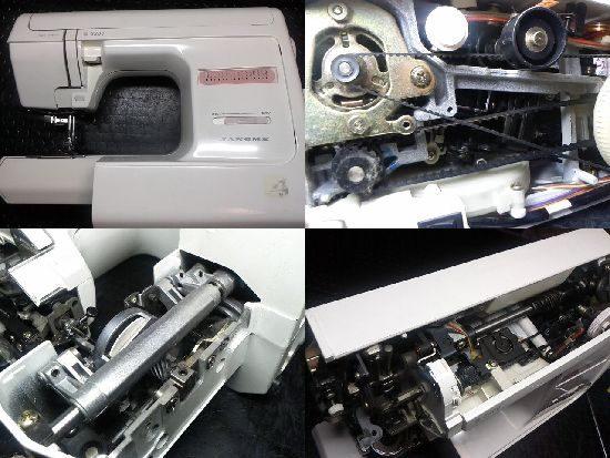 ジャノメ3300のミシン修理