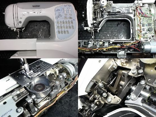 CPS52/LS700/ブラザーミシン修理