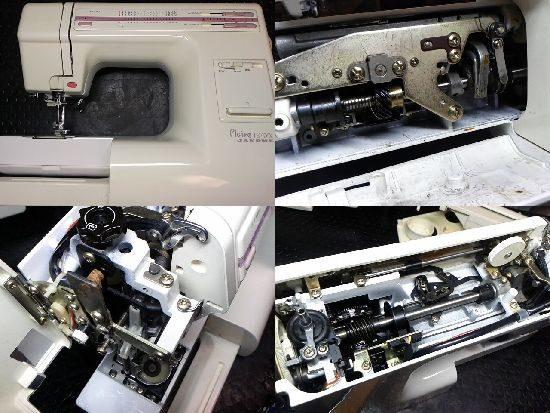 ジャノメPlaire18DXのミシン修理