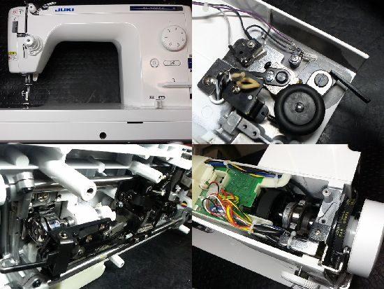 JUKIミシンSL-300EXの修理
