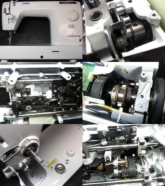 JUKIシュプール98スペシャルNのミシン修理