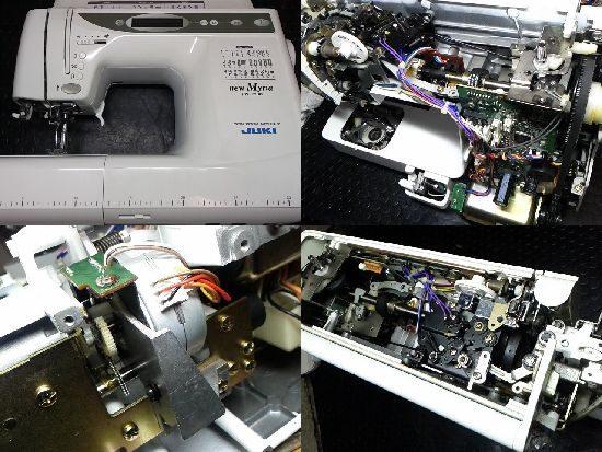 JUKIミシンHZL-T7100の修理
