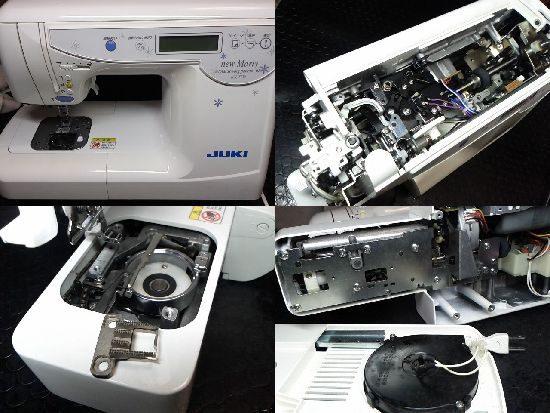JUKIミシンHZL-T730の修理