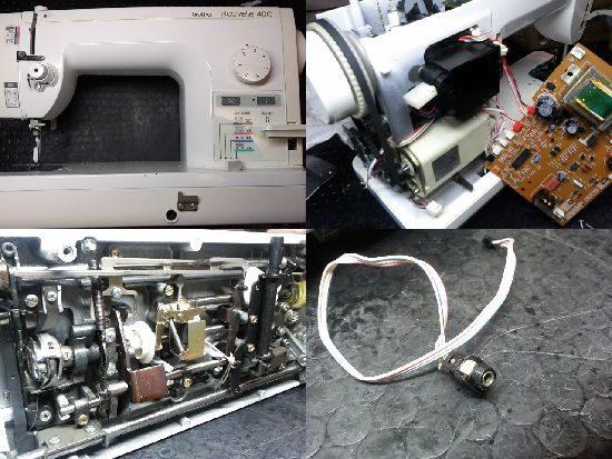 ブラザーNouvelle400のミシン修理