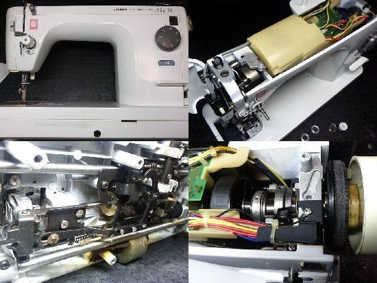 JUKIシュプール90のミシン修理
