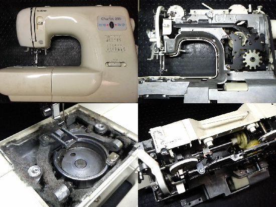 ブラザーZZ3-B543のミシン修理