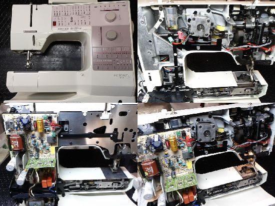 ベルニナホリデーヌ1240のミシン修理