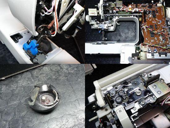ブラザーZZ3-B892のミシン修理