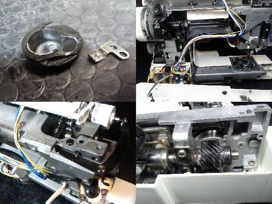 アックスヤマザキBB-500DXのミシン修理