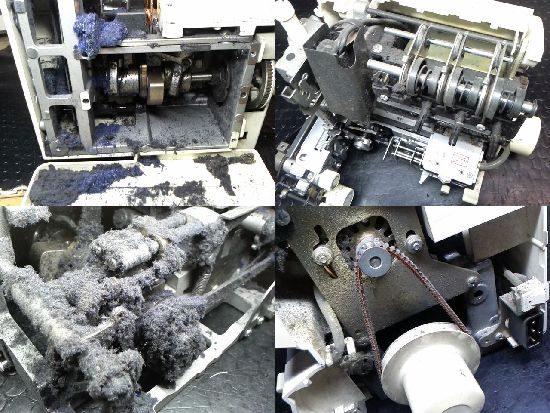 ベビーロック衣縫人BL33のミシン修理