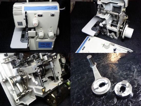ベビーロックBL3-450のミシン修理