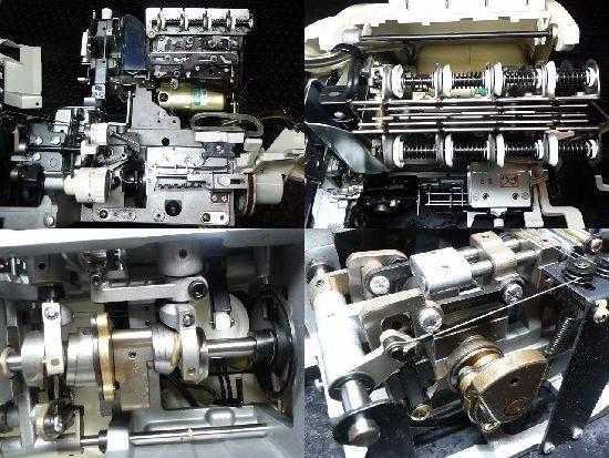 ジューキベビーロックBL66のミシン修理