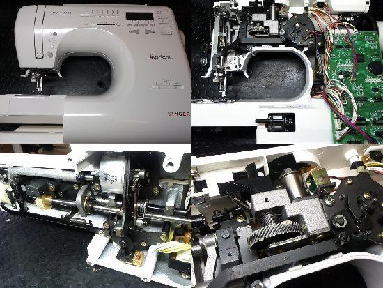 シンガーアプリコット9700のミシン修理