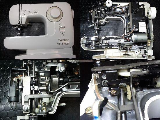 ブラザーEL137のミシン修理