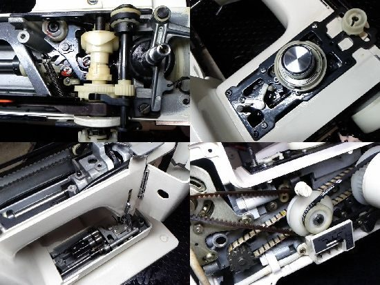 JNAOMEエクセル813のミシン修理