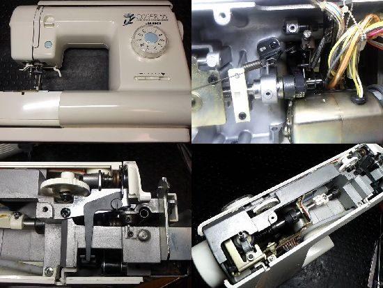 JUKIミシンCOSER55の修理