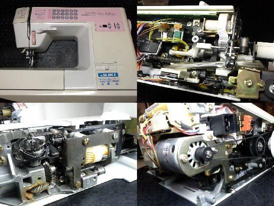 JUKIミシンHZL-7500の修理