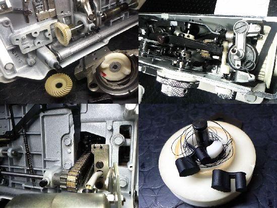 JANOMEトピア802型のミシン修理