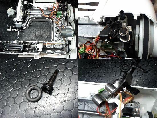 ジャノメミシンJP210Mのミシン修理