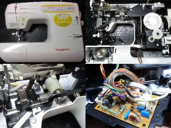 ジャガーJS-680のミシン修理
