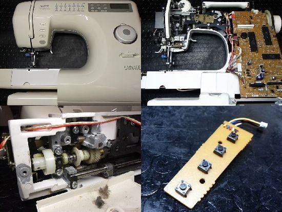 ブラザーLAINAGEのミシン修理
