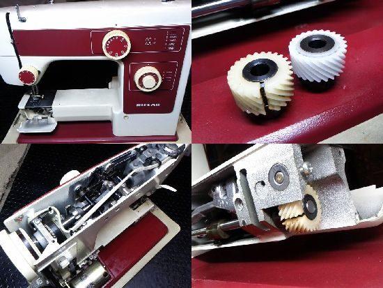 リッカーR-204のミシン修理