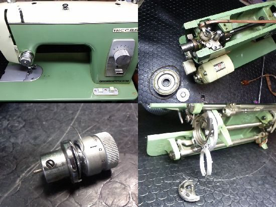 リッカーRW-6Lのミシン修理
