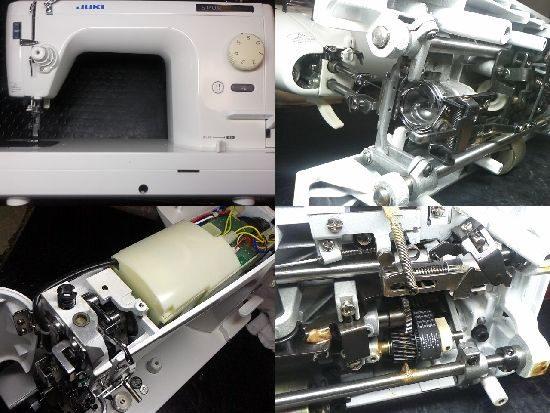 JUKIシュプール98DXのミシン修理