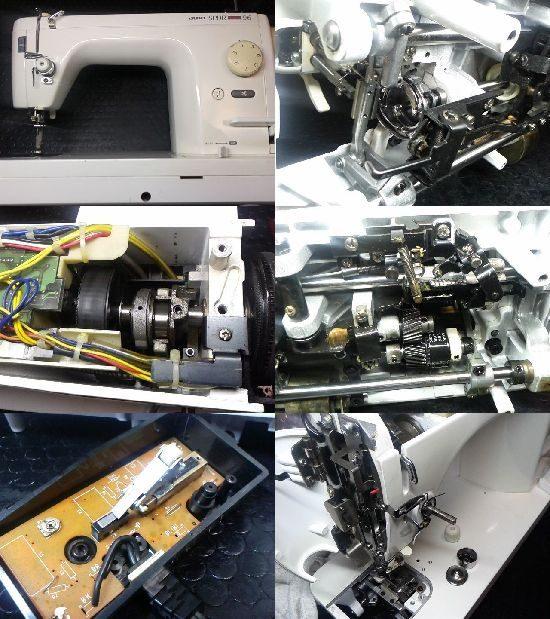 JUKIシュプール96デラックスのミシン修理